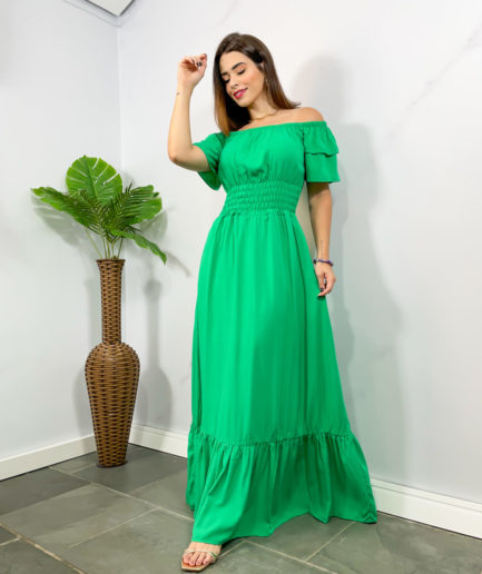 veigaboutique com br vestido longo lastex ciganinha manguinha copia 1