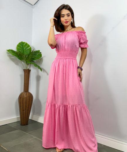 veigaboutique com br vestido longo manguinha